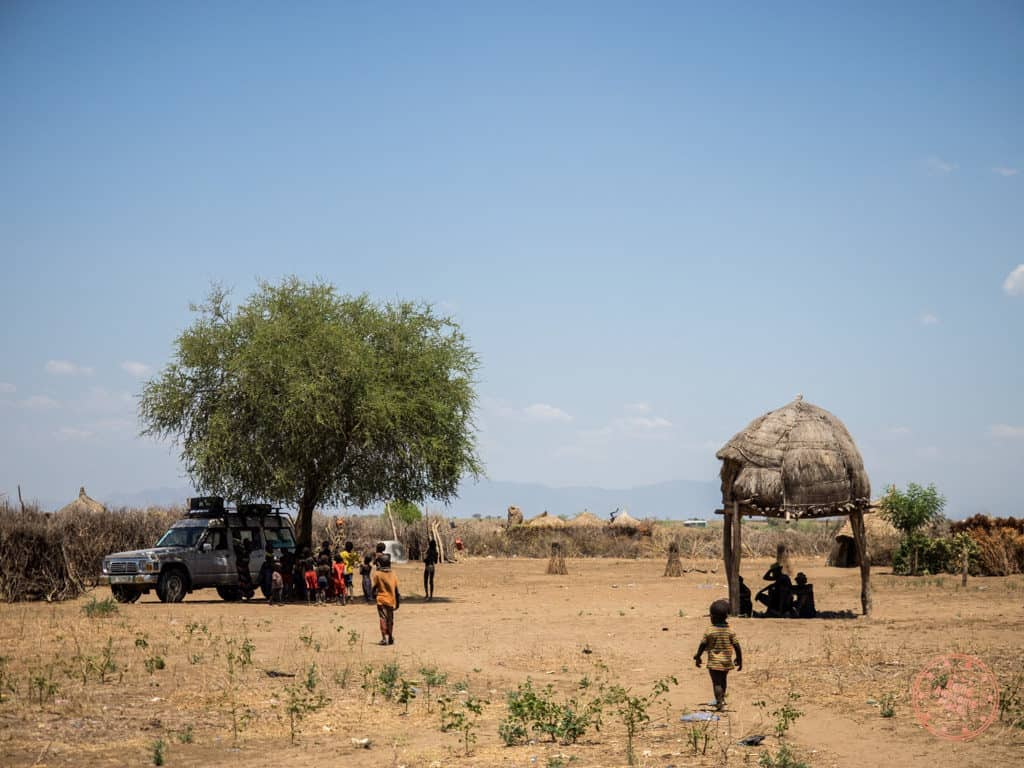 Spending Time With The Nyangatom Tribe in Omo Valley