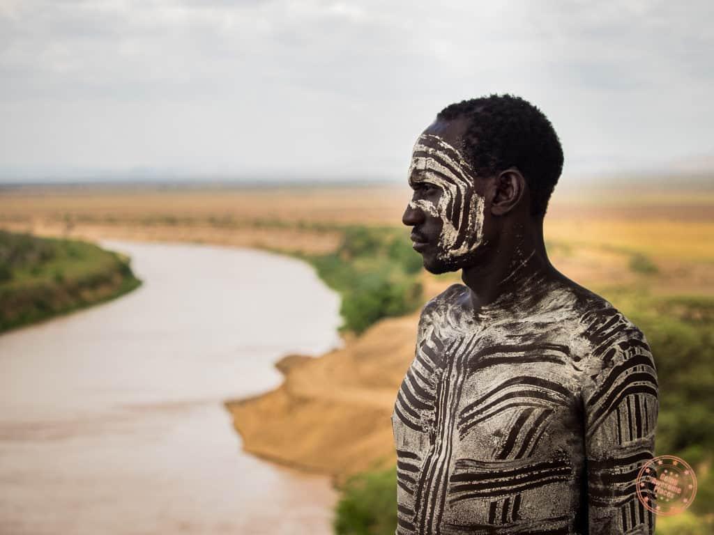 Male Models in Karo Tribe