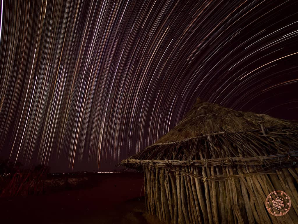 star trails with the hamar tribe in omo valley ethiopia
