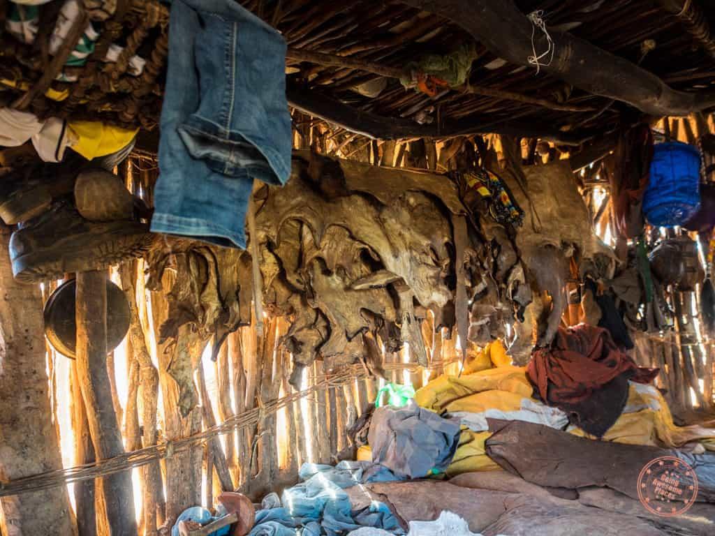 Inside a Hamar Tribe Home