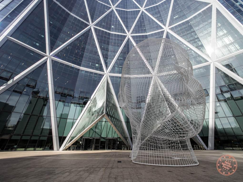 Downtown Calgary Sculptures