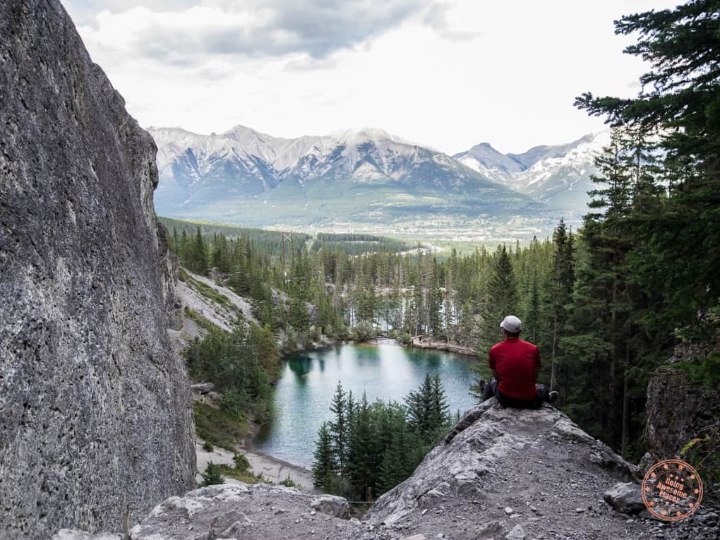upper grassi lake view in canmore alberta in 3 day calgary itinerary