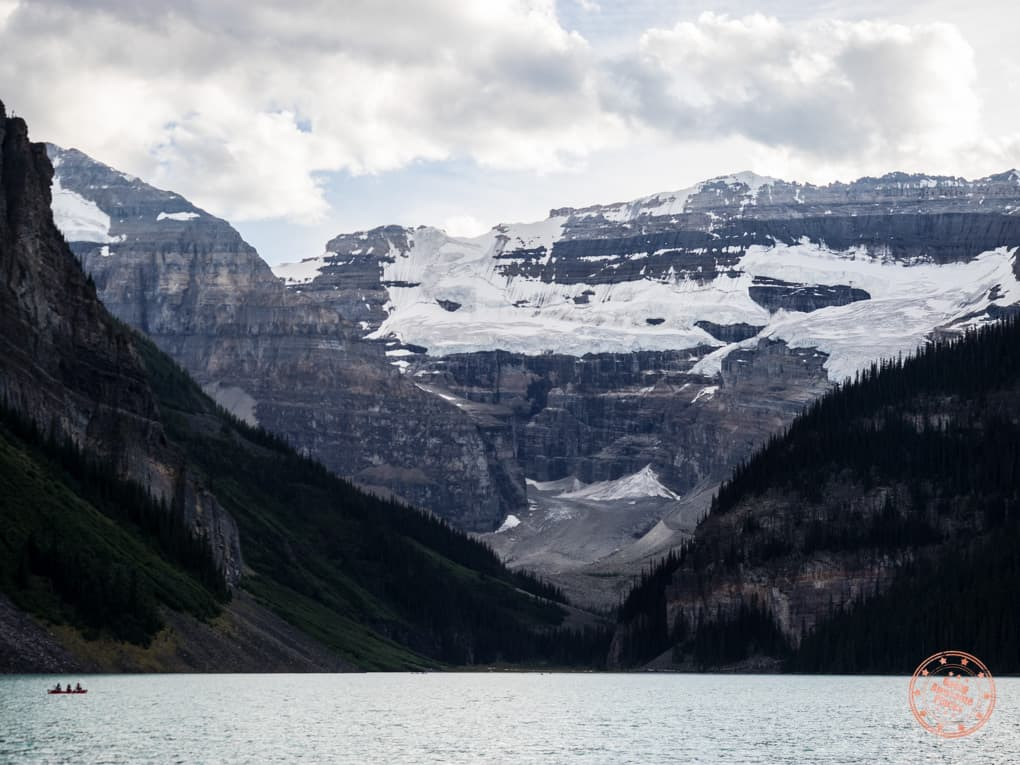 Lake Louise Upclose in August
