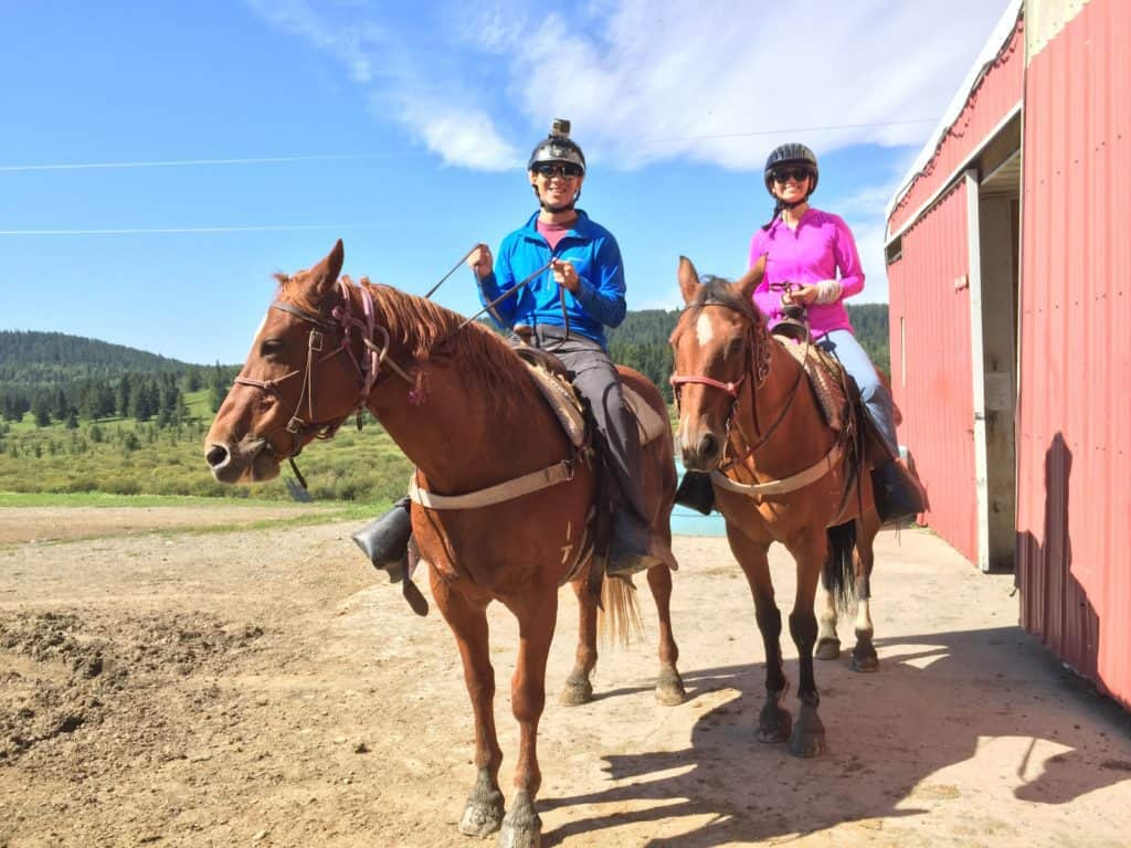 Horseback Riding at Griffin Valley Ranch