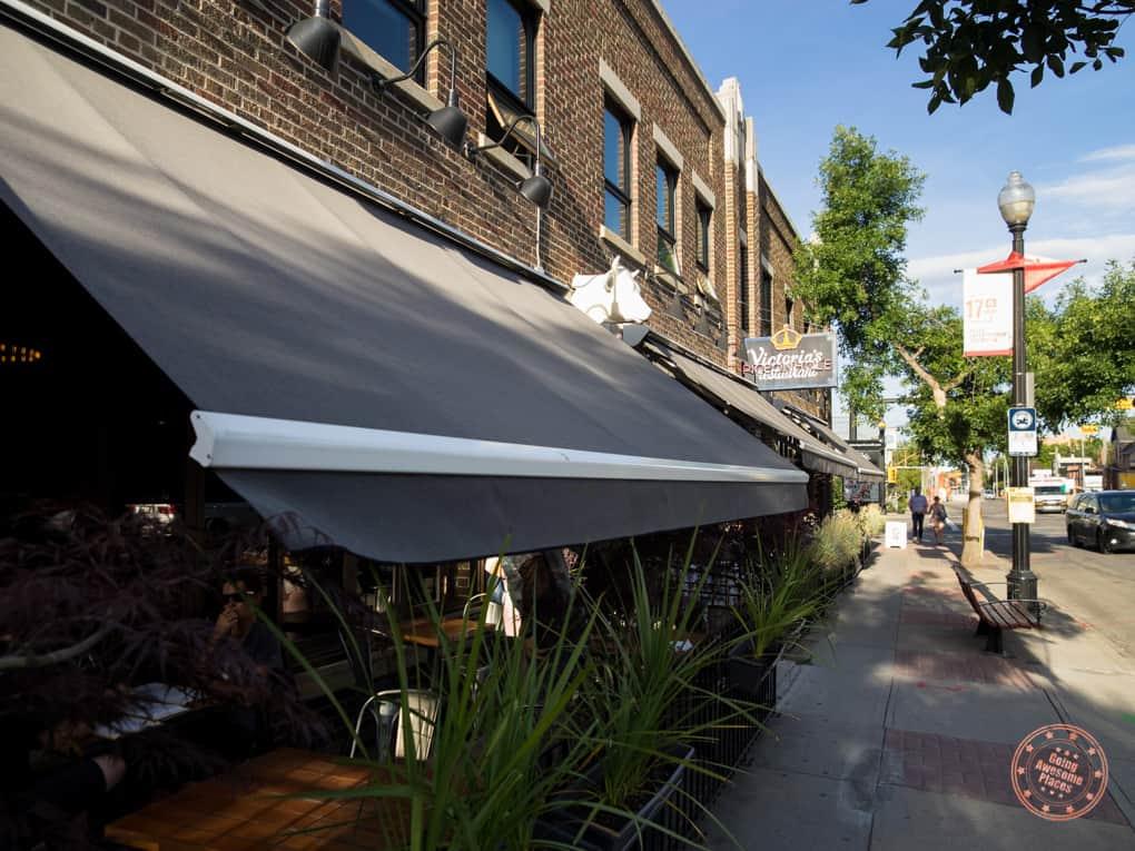 pigeonhole restaurant in 3  day calgary itinerary