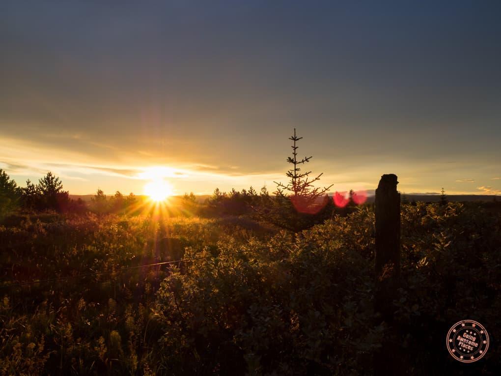 Sunrise Near Buubble