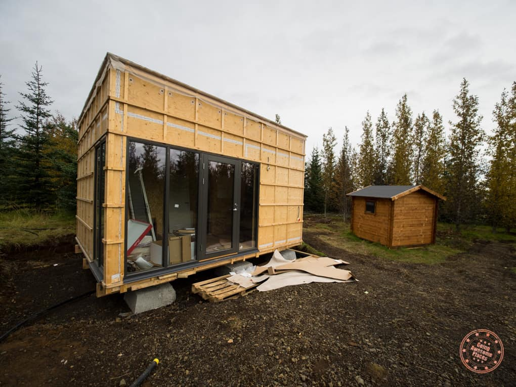 work in progress facilities for bubble iceland