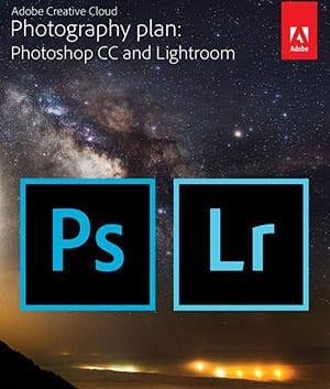 Adobe Creative Cloud for Photoshop and Lightroom bundle