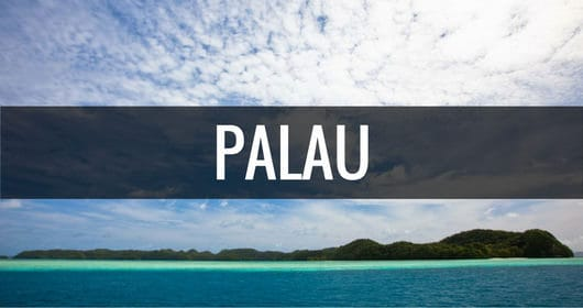 Destination Palau in the South Pacific