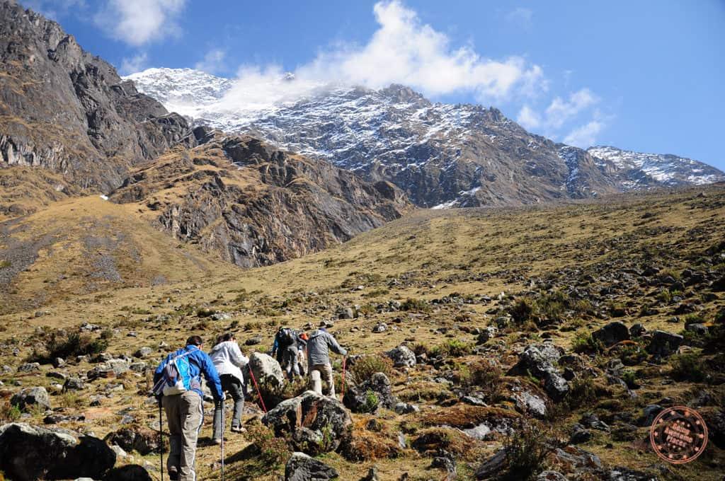 Salkantay Day 2 Climbing