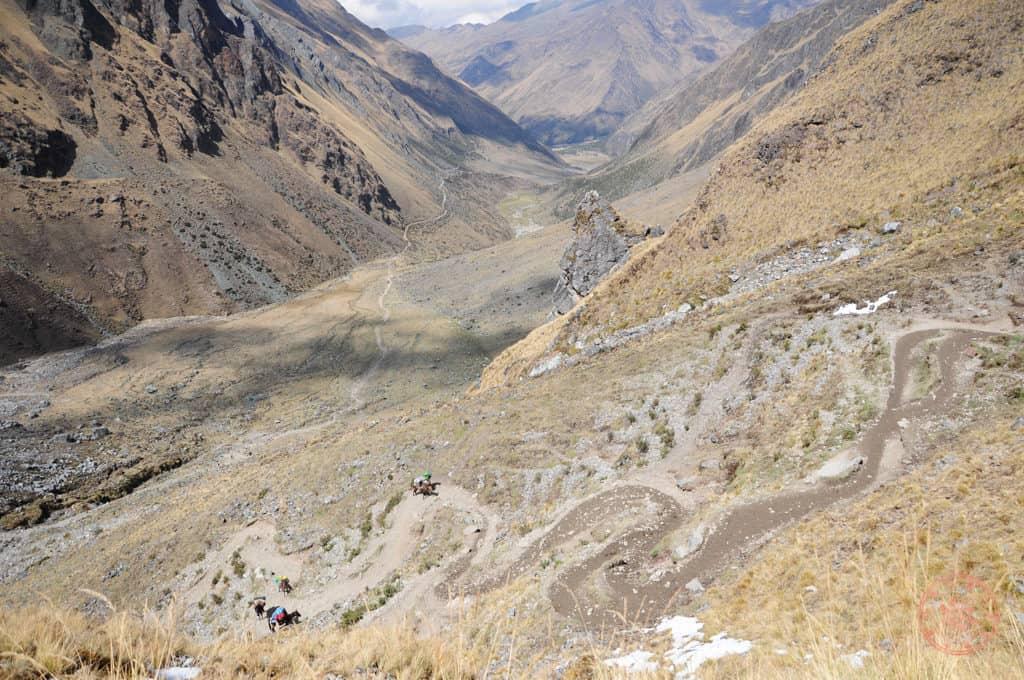 Zig Zag Trail of Salkantay