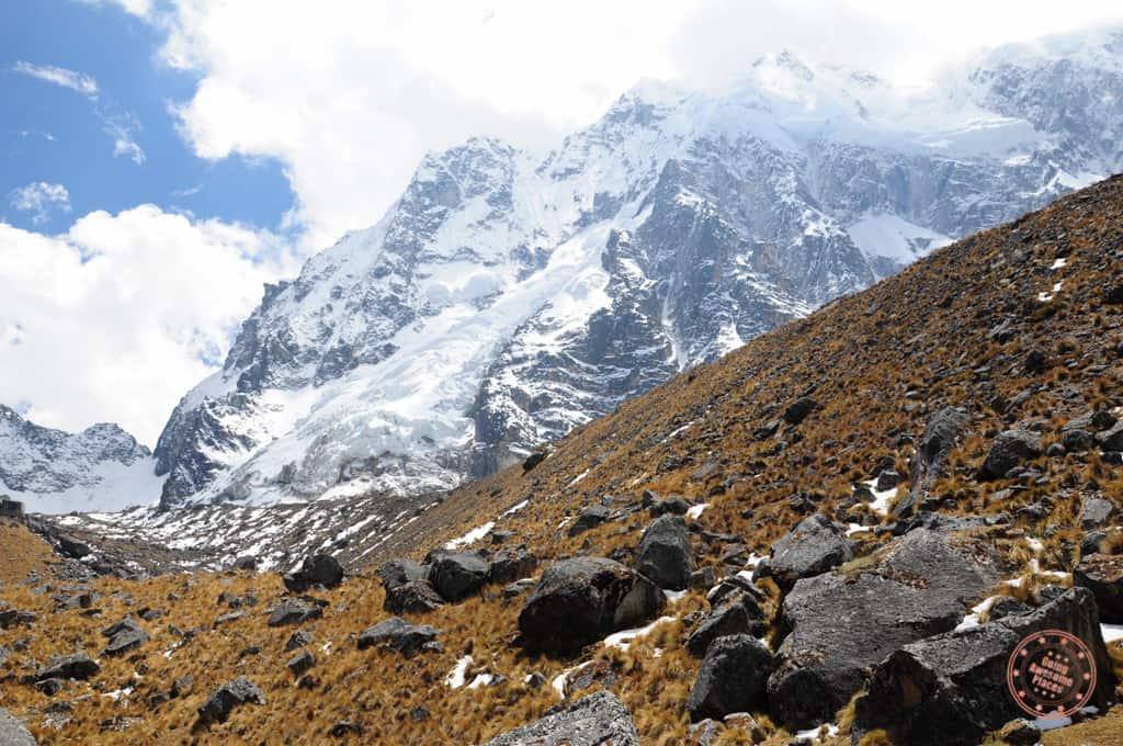 salkantay trek mountain view