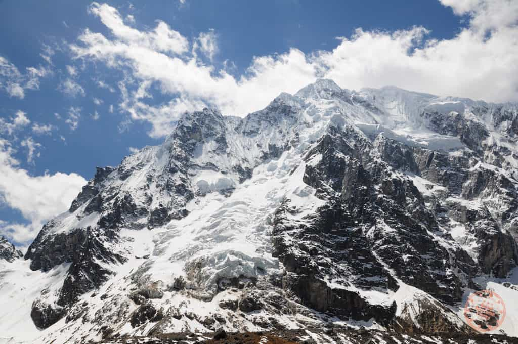 Snow Capped Salkantay Mountain