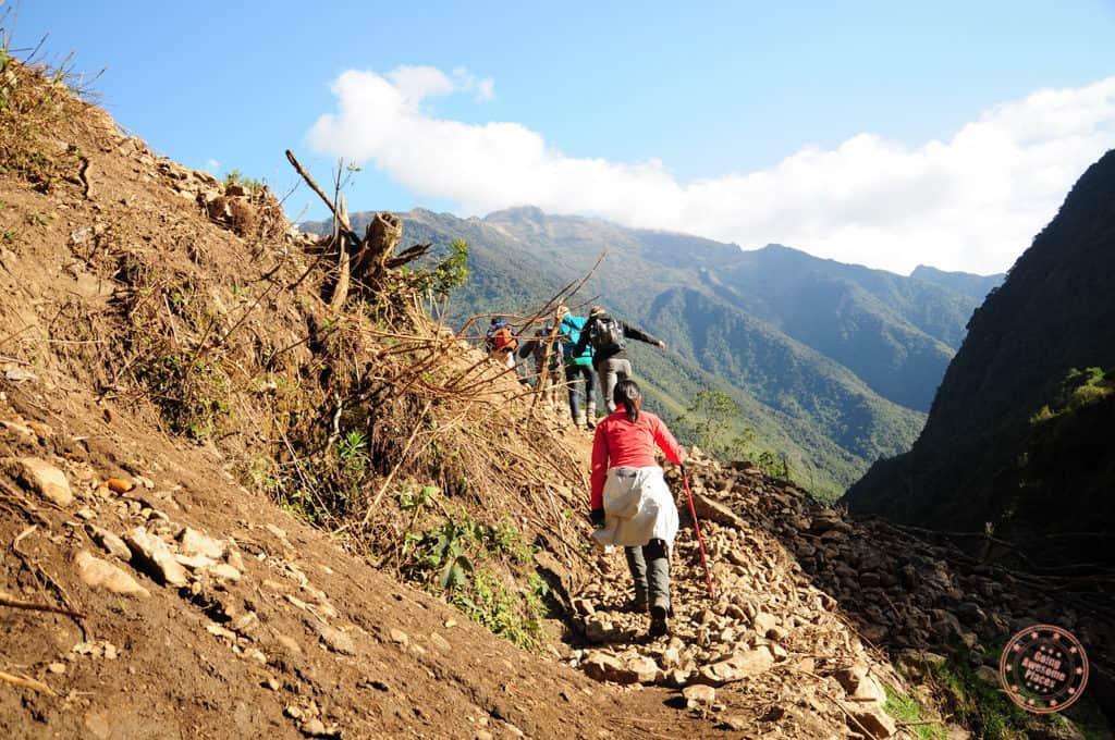 Tough Hiking Up Salkantay Trek