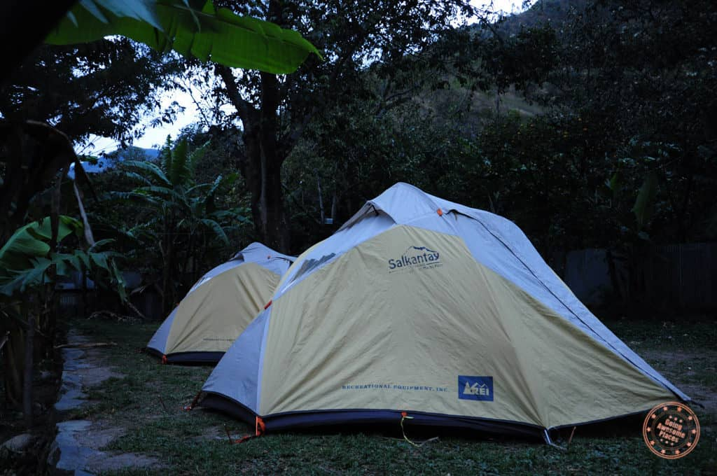 Tents of Salkantay Hike