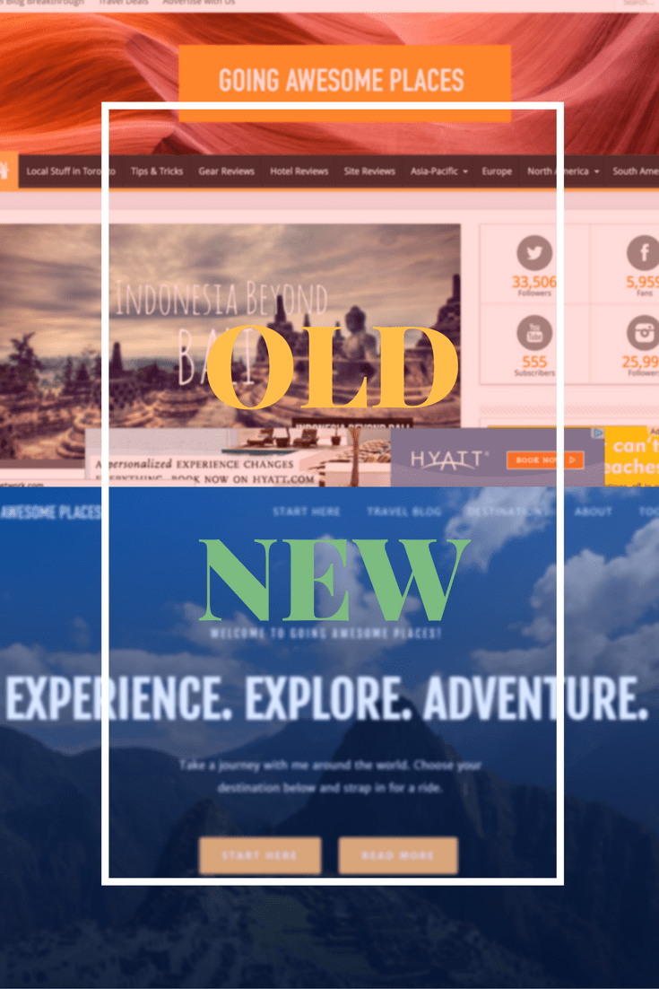 Introducing the brand new Going Awesome Places where the UX has been improved to be easier to read, faster, cleaner, and mobile friendly.