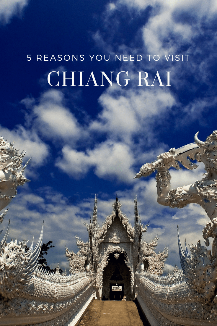 In the Northwest region of Thailand is the beautiful city of Chiang Rai.  Here is a top list of reasons why you want to come here.