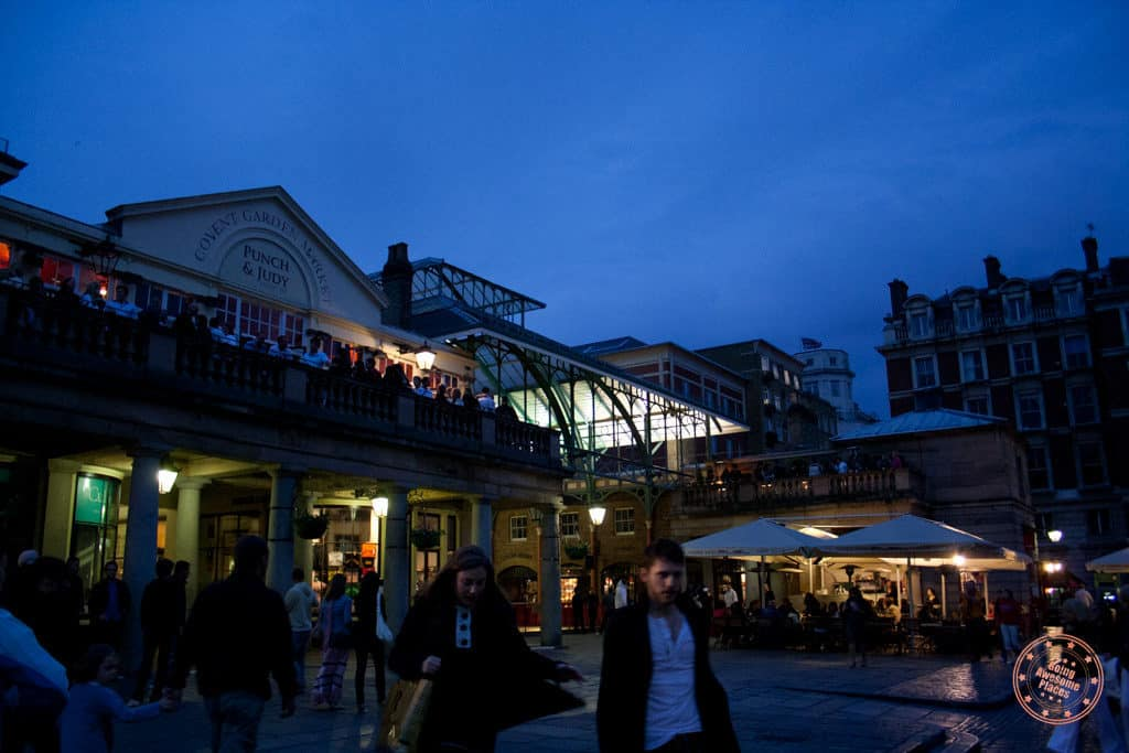 Evening at Convent Gardens