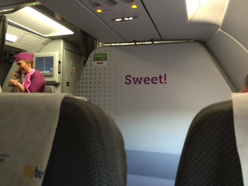 WOW Air Sweet sign