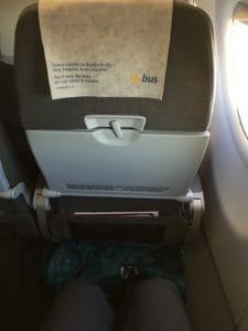 WOW Air XL Seating Legroom