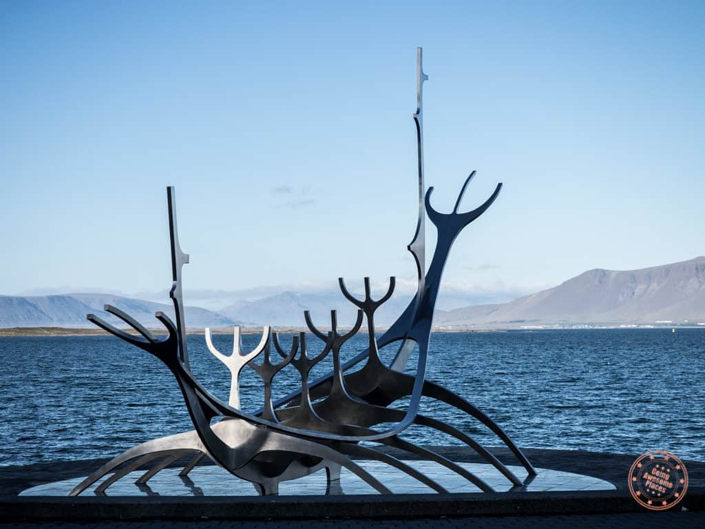 sun voyager in reykjavik as part of iceland 8 day road trip