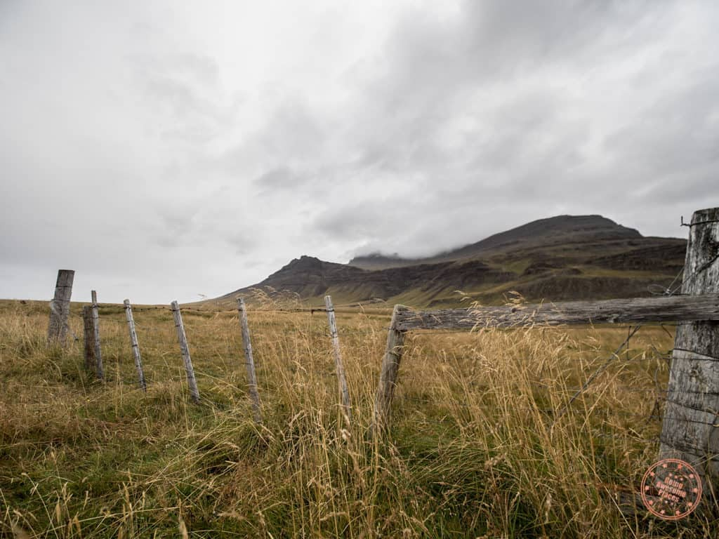 road side stop in iceland