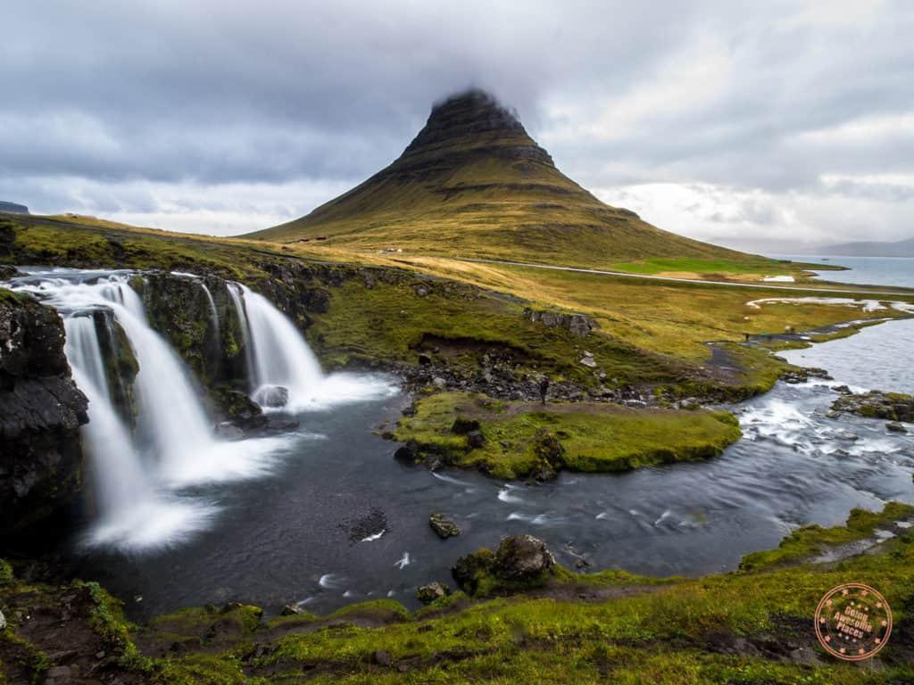 Kirkjufell in Snafellsnes Peninsula in Iceland