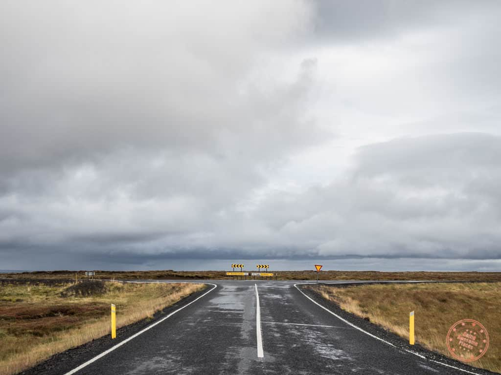 Crossroads in Iceland