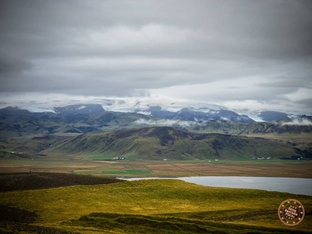 Mountains Lakes and Plains in Iceland