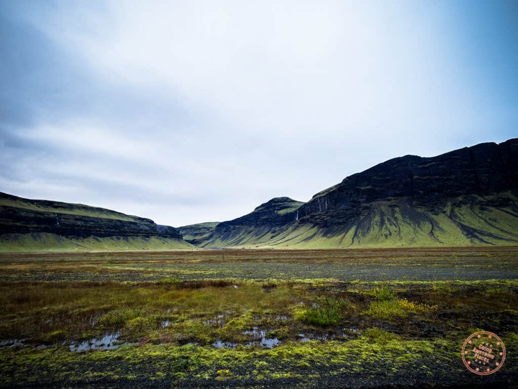 incredible landscape views while on iceland road trip