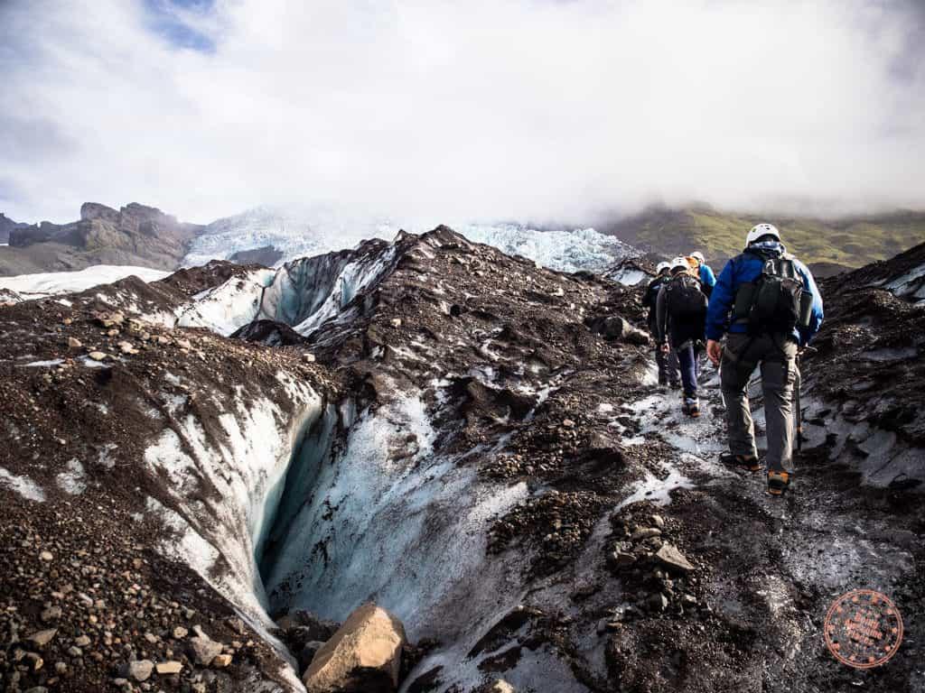 glacier extreme glacier climbing
