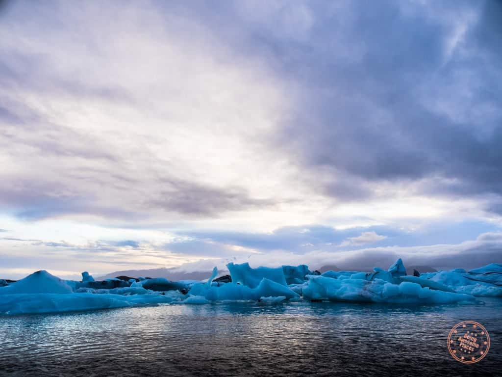 jokusarlon lagoon on day 1 of 6 day iceland itinerary