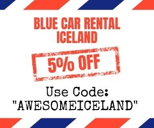 blue car rental iceland coupon code and promo code