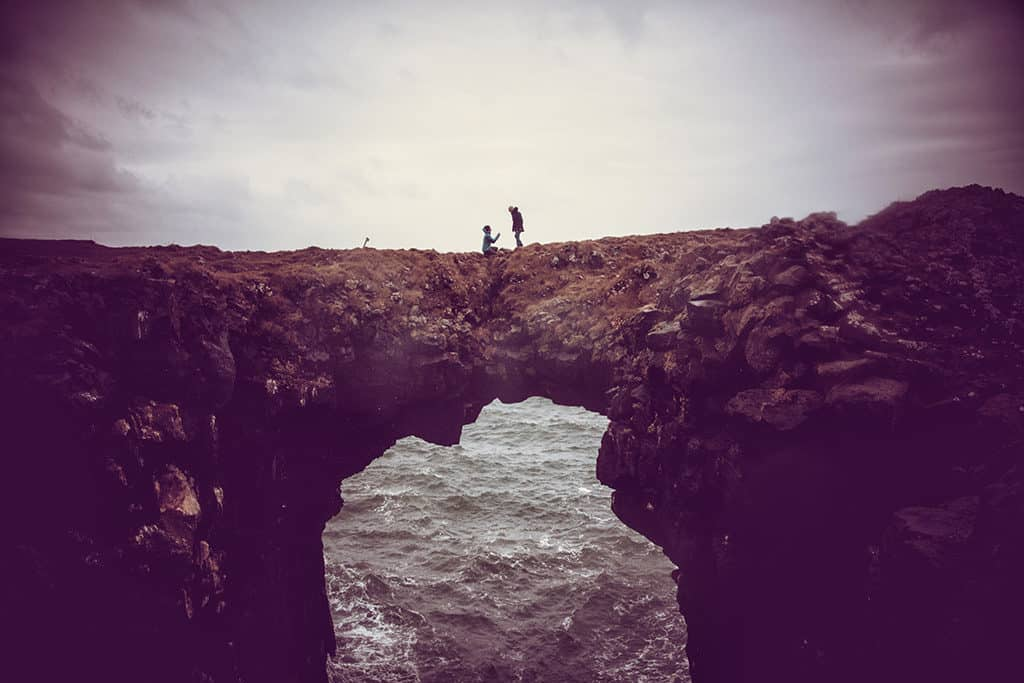 proposing in iceland