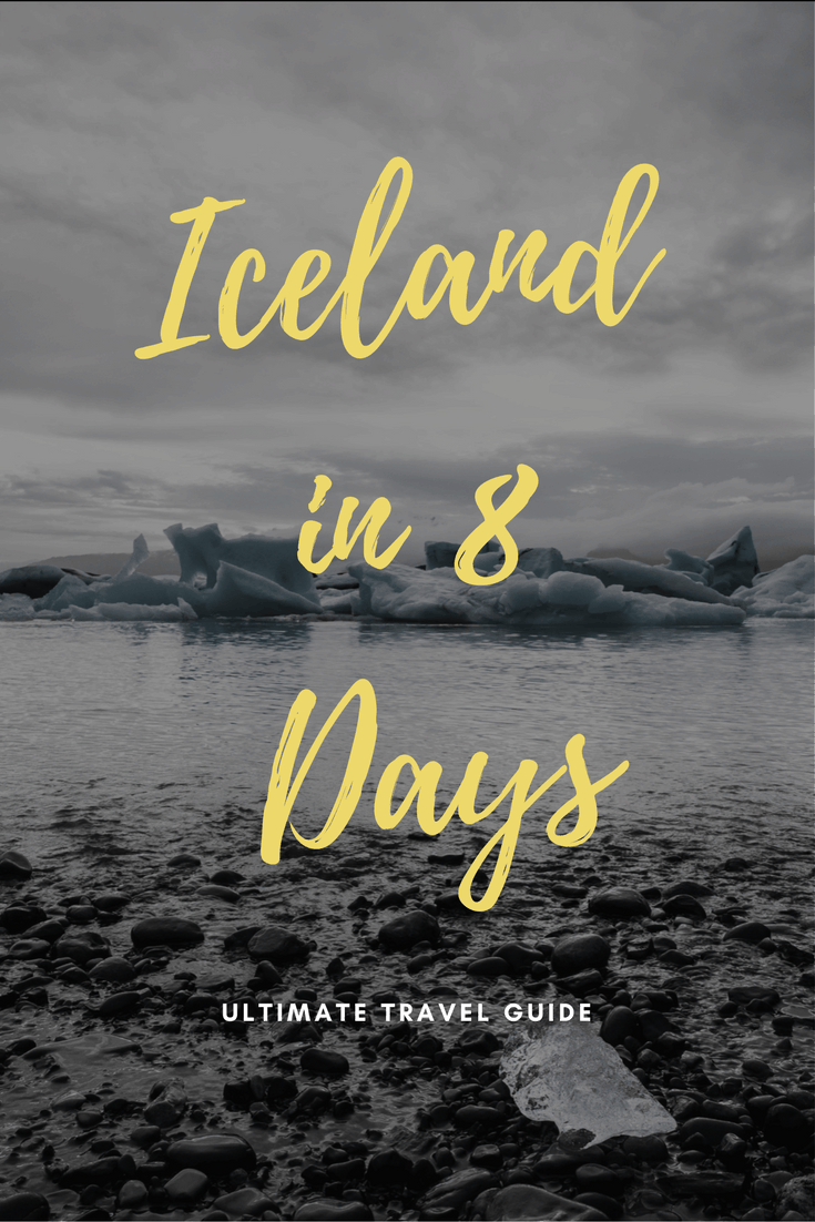Ultimate 8 Day Iceland Itinerary - An Iceland Road Trip Guide