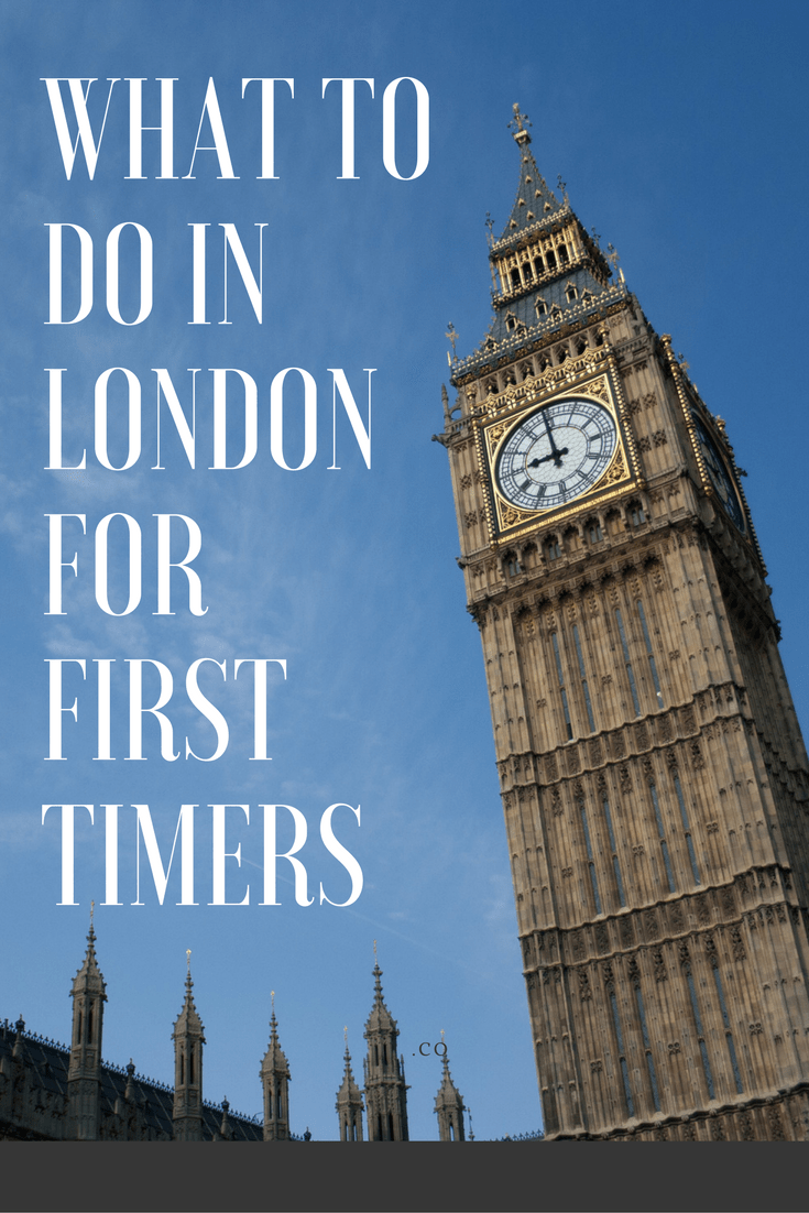 What to See in London as a First Timer
