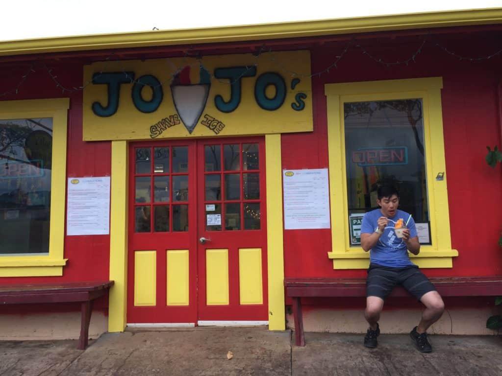 JoJo's Shave Ice Waimea Kauai