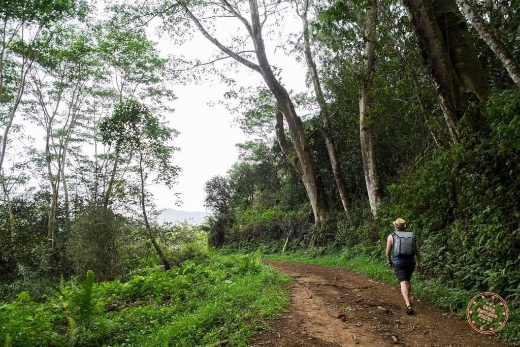 Hiking with Peak Design 30L Backpack