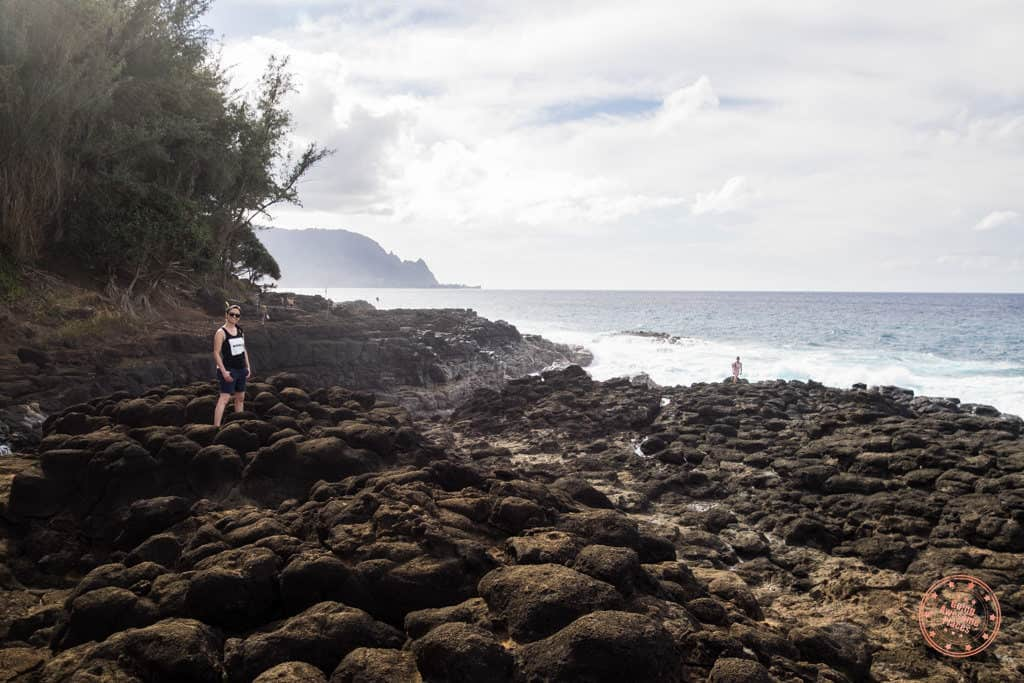 queen's bath is a must visit if you only have 3 days in kauai