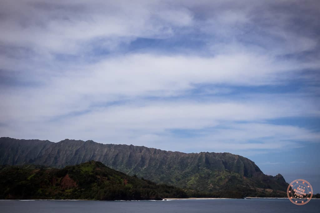 Mountains From Hanalei Bay
