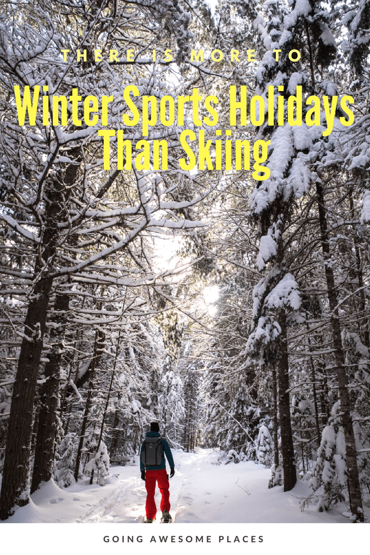 If you're planning your winter holidays and not a skiier, what other activities can you do?  For the non-skiier there are a lot of options to keep you busy.