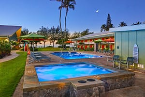 kauai shores hotel - budget property in kauai