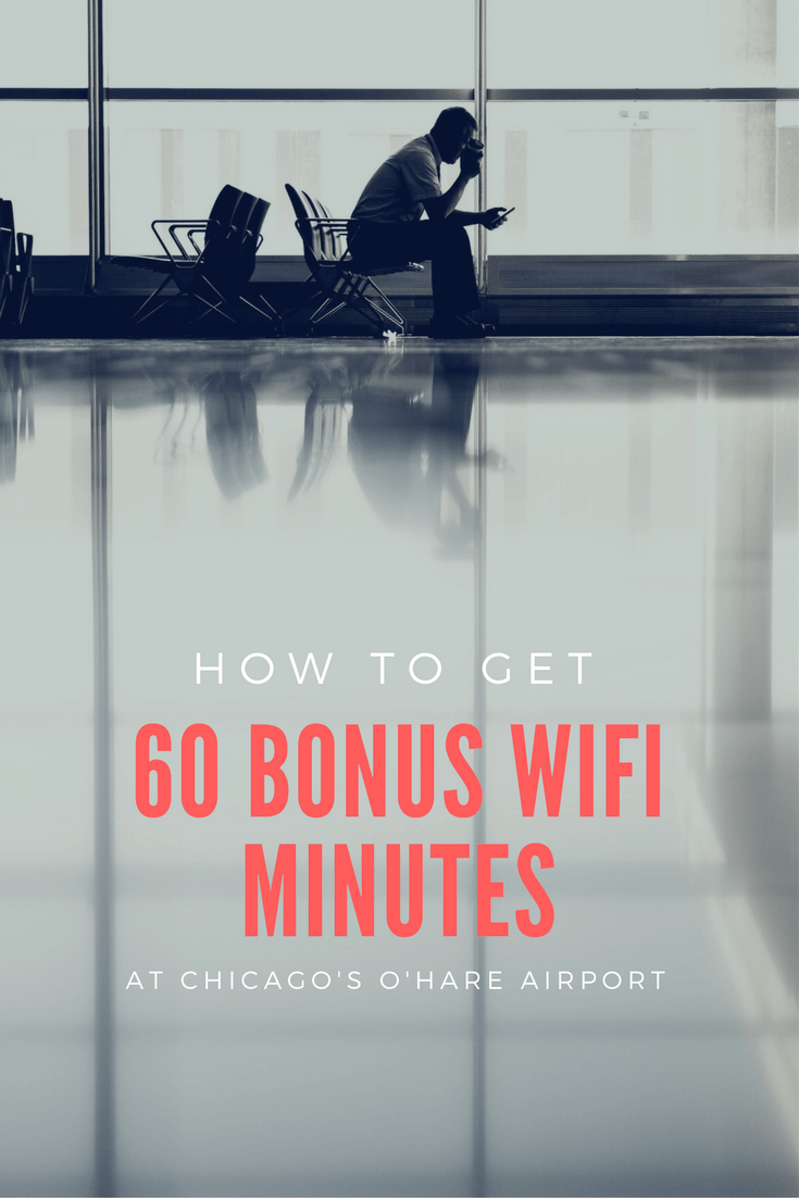 Frustrated that Chicago O'Hare International Airport's Boingo wifi only offers complimentary 30 minutes? Learn how to extend it to 120 minutes with this simple travel hack.