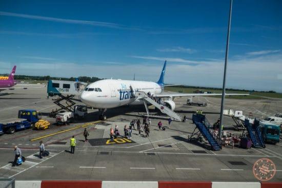 AirTransat Plane in Dublin