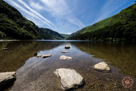 Short Hike From the Monastic City is the Upper Lake in Glendalough