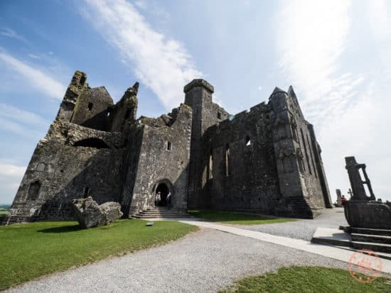 Entrance to the Rock of Cashel