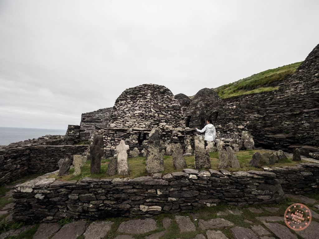 Chapel at the Monestary on Skellig Michael