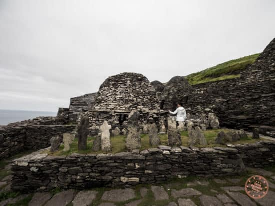 Inside the Monastery And The Chapel At Skellig Michael
