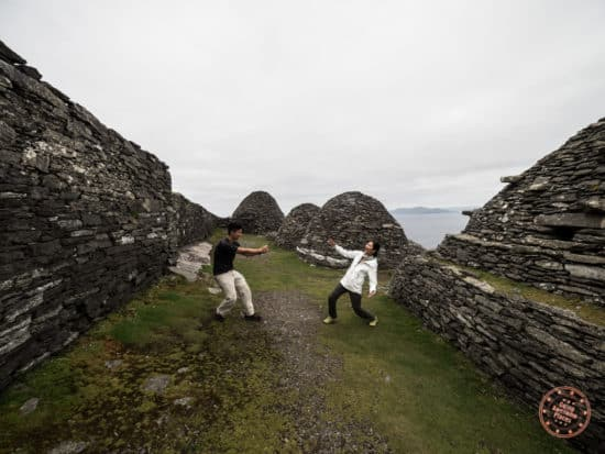 Will wielding a Sith lightsaber at Skellig Michael in Ireland