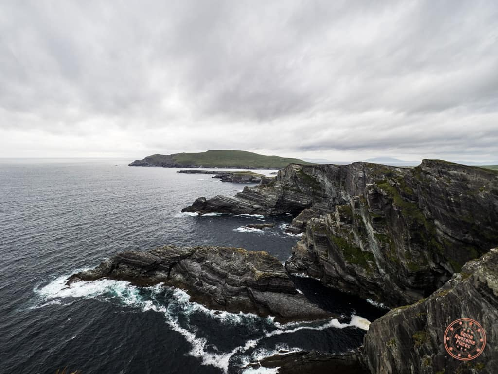 View of the Kerry Cliffs